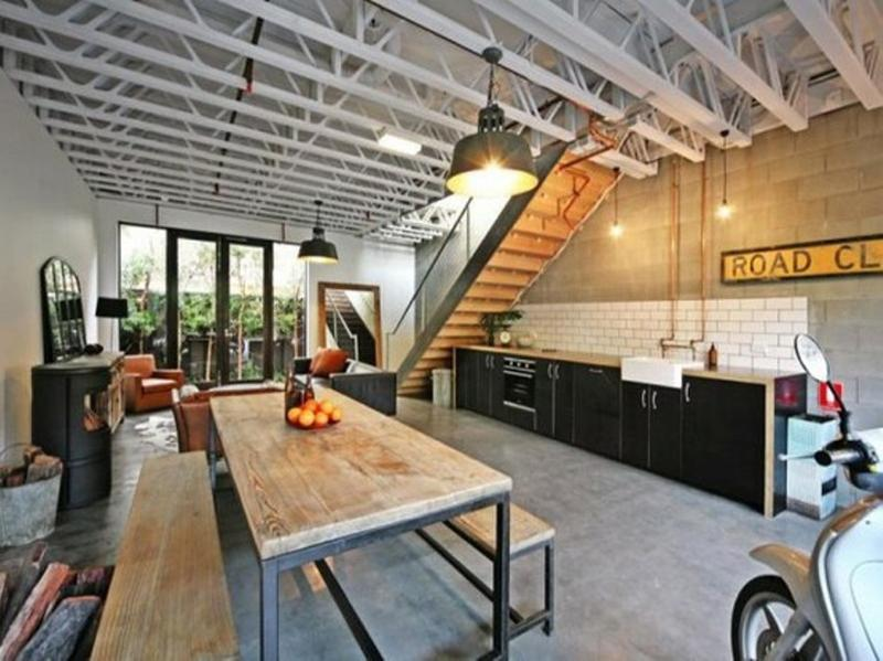 Industrial Home Kitchen Design - Kitchen Design Ideas ...