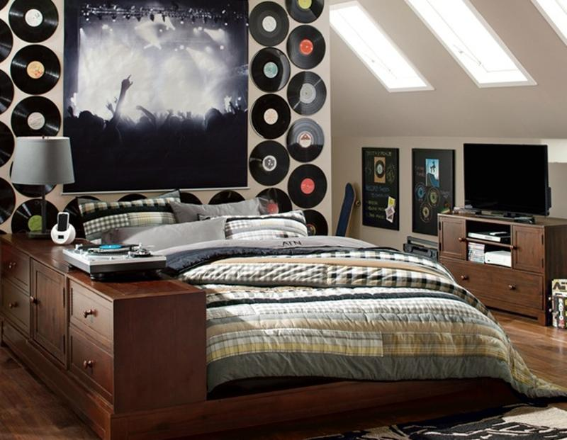 Creative Music Inspired Bedroom. Music Inspired Bedrooms for Teenagers   Rilane