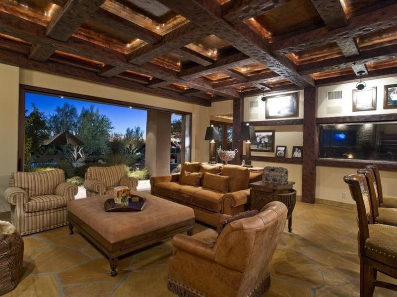 20 living room designs with exposed roof beams rilane