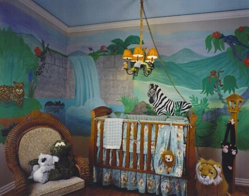 Creative Jungle Themed Nursery. 20 Jungle Themed Bedroom for Kids   Rilane