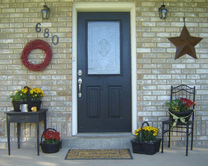 creative small porch decorating idea - Porch Design Ideas