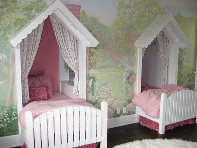 Interior Twin Girls Bedroom Ideas 15 twin girl bedroom ideas to inspire you rilane creative girls bedroom