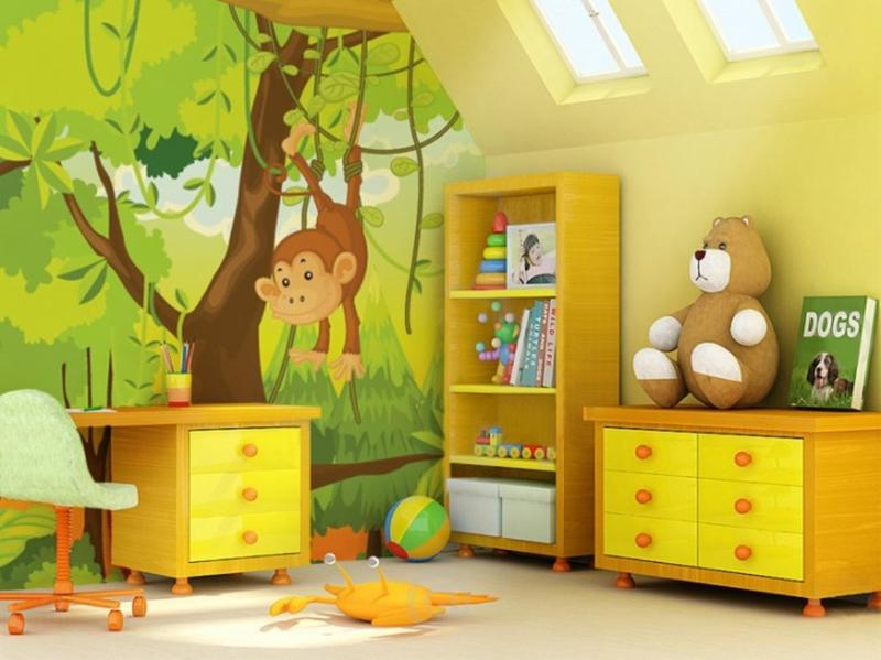Cute Jungle Themed Bedroom for Kids. 20 Jungle Themed Bedroom for Kids   Rilane