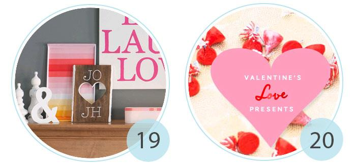 96 Valentine DIY projects, printables and baking - Rilane