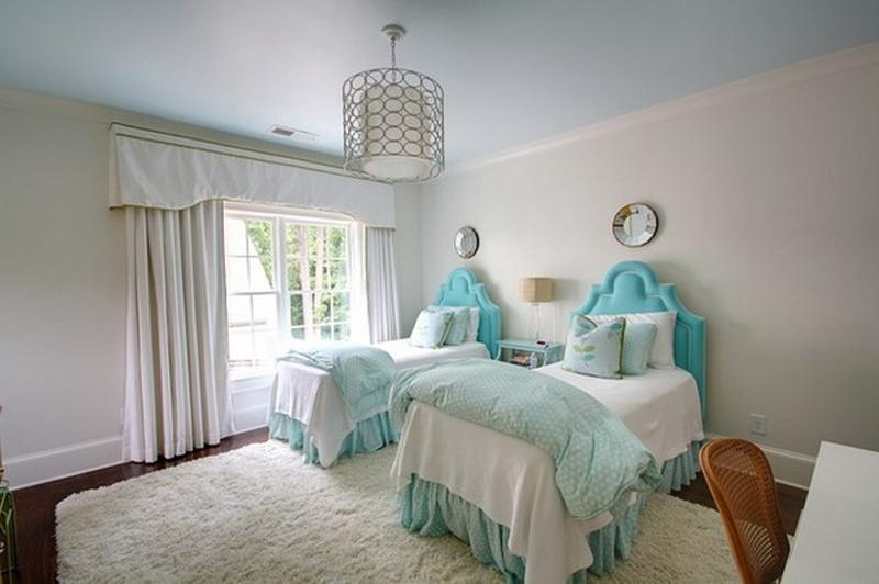 elegant blue twin girl bedroom. marvelous twin bedroom ideas that