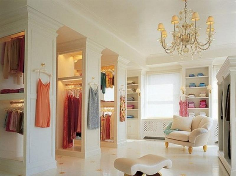 Great Fabolous Walk  In Closet Design Ideas