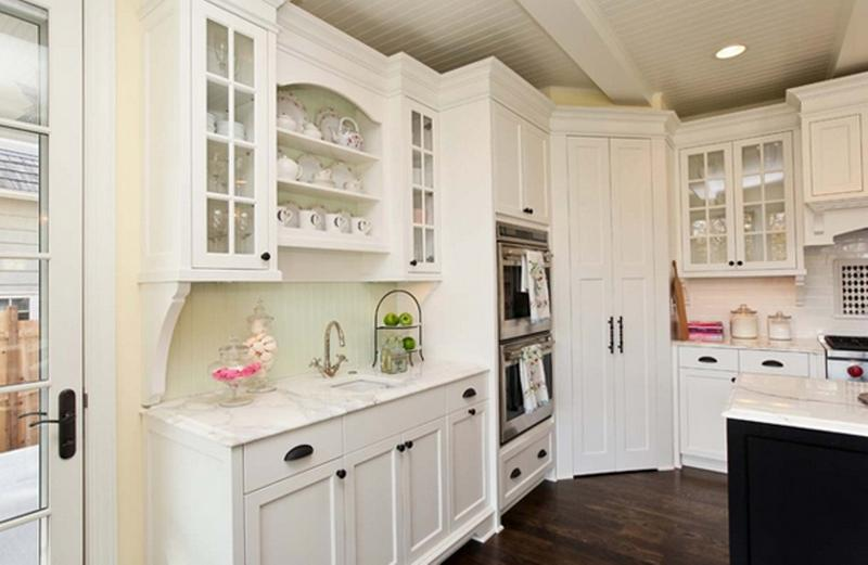 Preferred 20 Smart White Kitchen Pantry Cabinets - Rilane ZP64