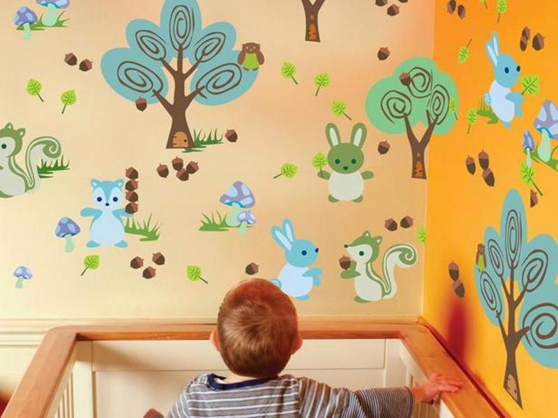 12 Beautiful Wall Art Stickers for Baby Nursery - Rilane