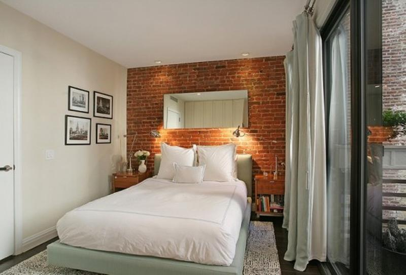 Modern Bedroom Designs With Exposed Brick Walls Rilane - 65 impressive bedrooms with brick walls