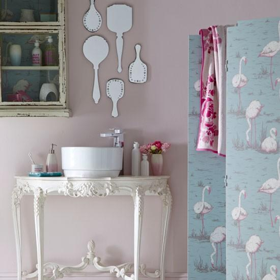 33 Sweet Shabby Chic Bedroom Décor Ideas: 10 Pastel Colored Bathroom Design Ideas