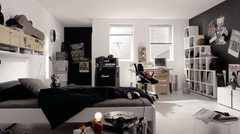 Music Inspired Bedrooms For Agers
