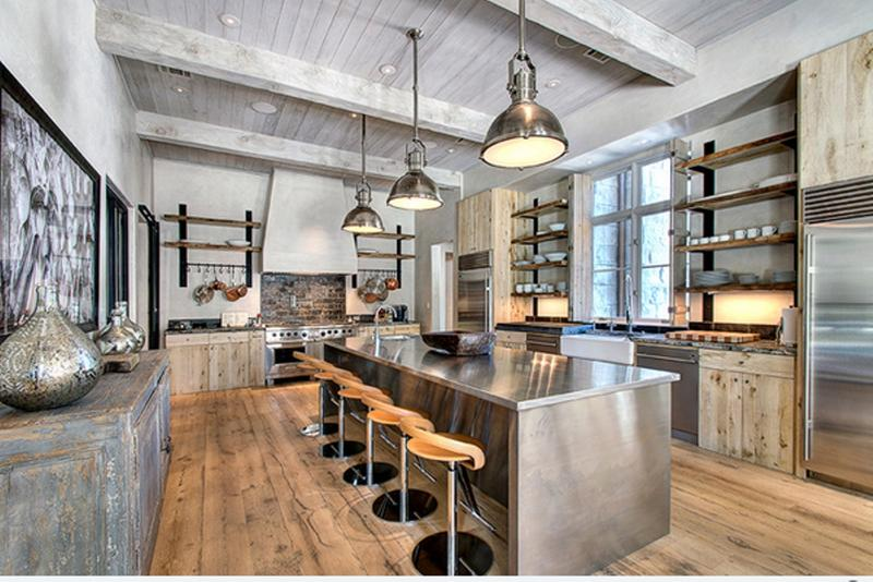 Bon Whimsical Industrial Kitchen Design Ideas