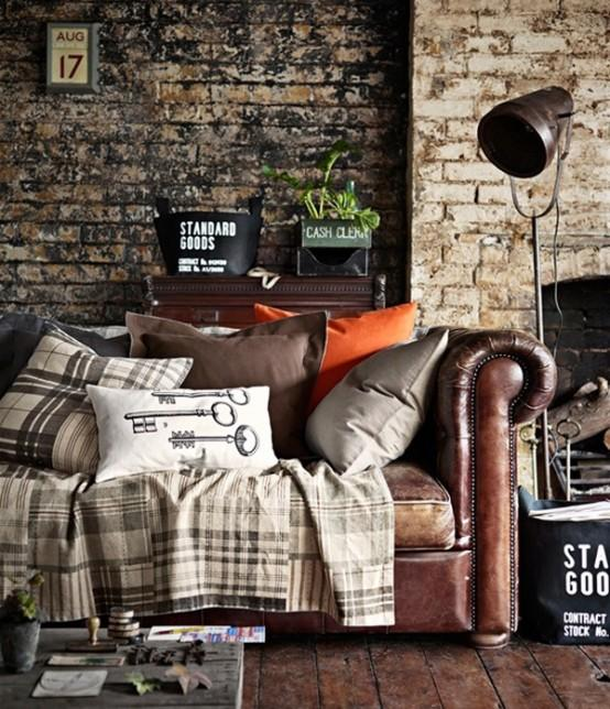 23 Elegant Living Room With Exposed Brick Wall: 20 Exposed Brick Walls In Modern Living Rooms