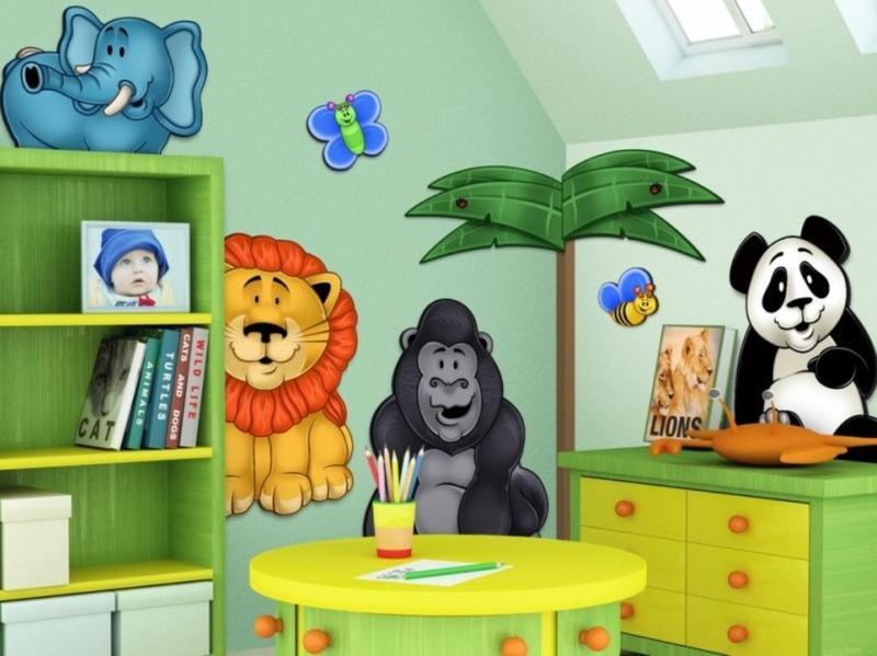 Interesting Jungle Themed Bedroom. 20 Jungle Themed Bedroom for Kids   Rilane