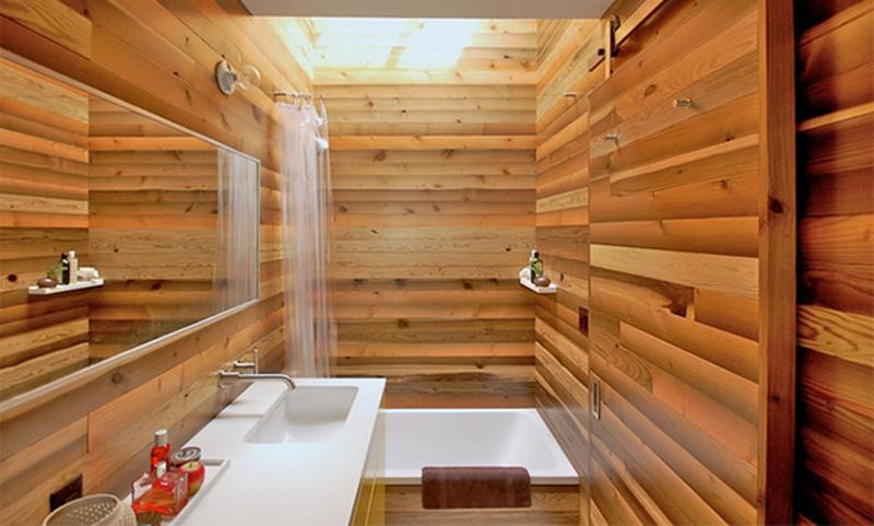 Japanese Hot Bath Inspired Bathroom Part 50