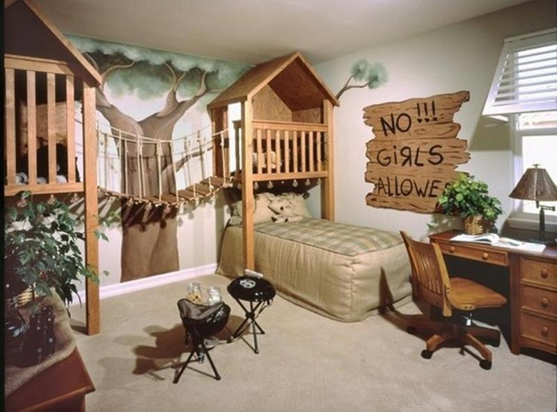 20 Jungle Themed Bedroom for Kids. 20 Jungle Themed Bedroom for Kids   Rilane