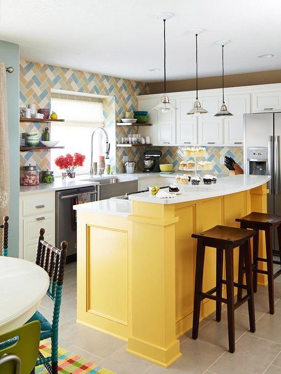 15 Vibrant and Colorful Kitchen Design Ideas Rilane