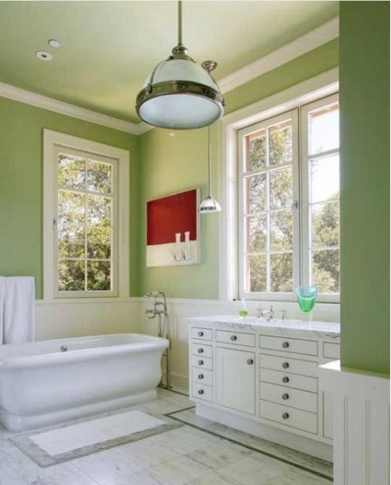 Green Bathroom: Refreshing Green Bathroom Design Ideas