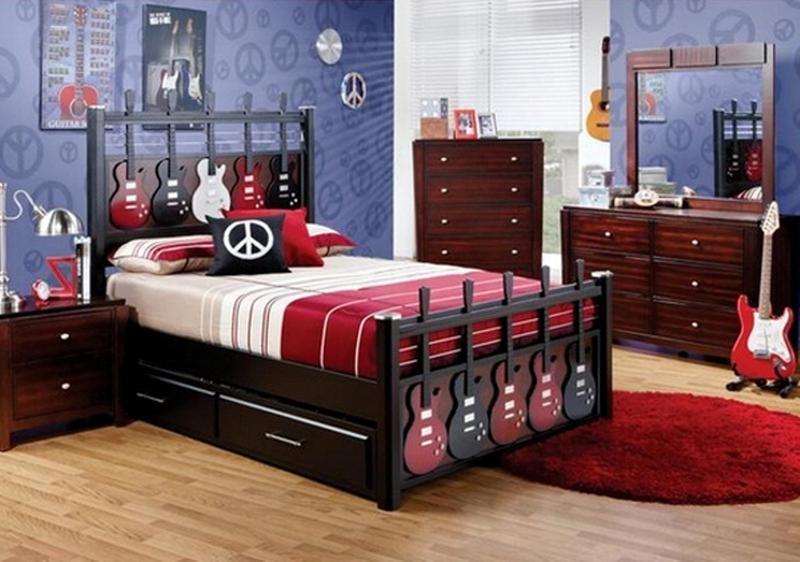 music inspired bedrooms for teenagers rilane
