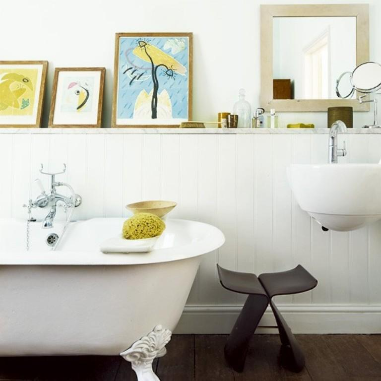lively eclectic bathroom - Eclectic Bathroom