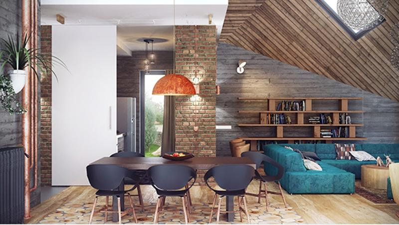 13 Bold Dining Room Designs With Exposed Brick Walls
