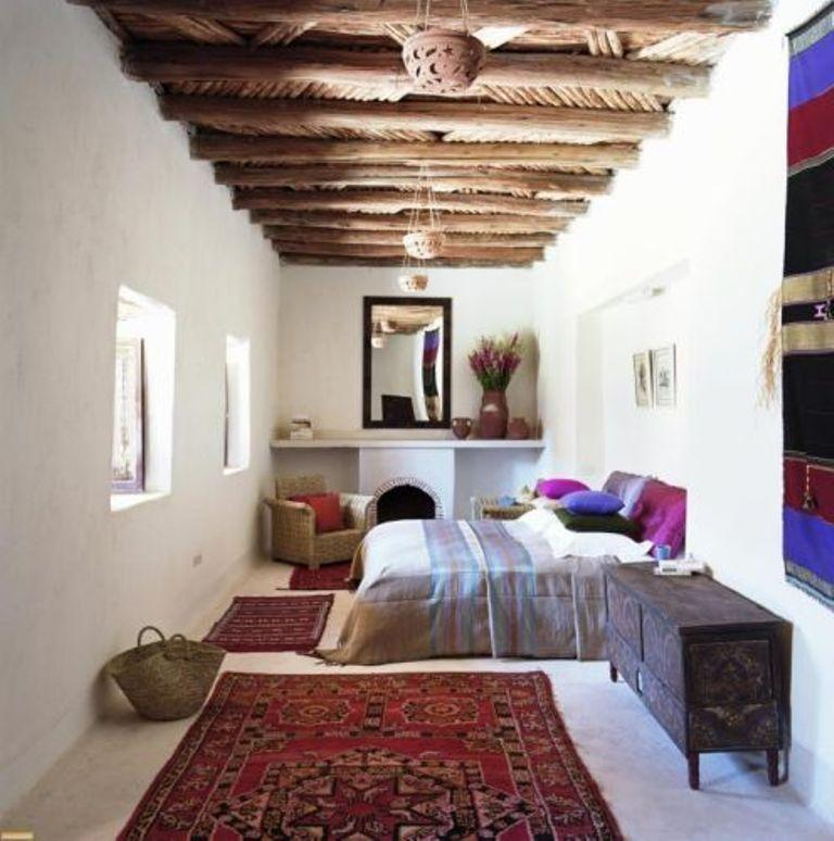 Moroccan Long Bedroom