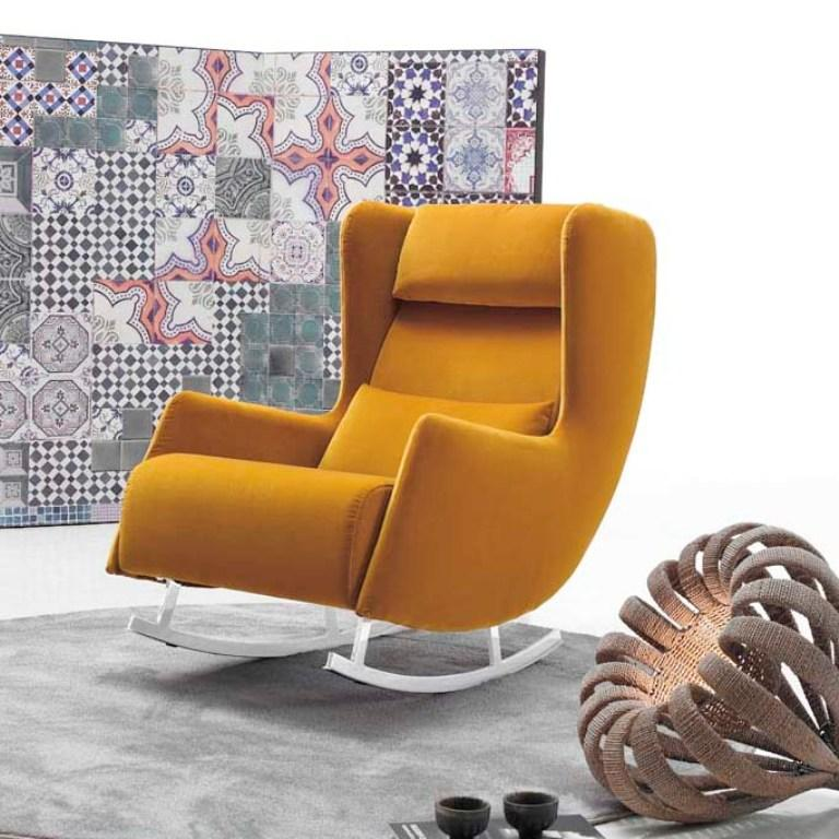 Delightful Fabolous Yellow Wingback Chair Design Ideas