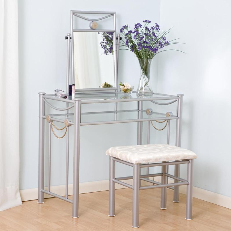 Modern Steel Bedroom Vanity