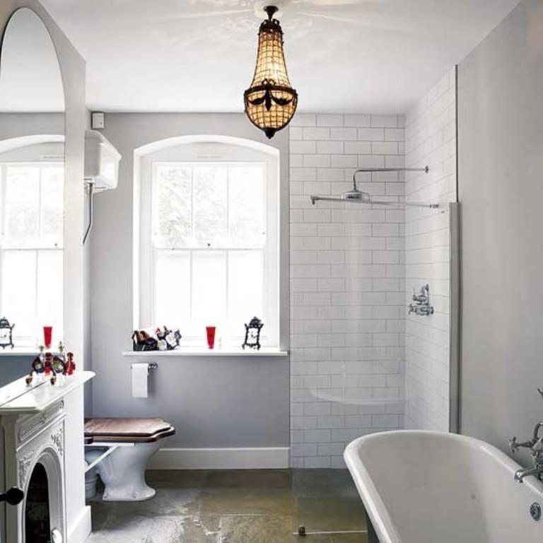 Victorian Bathroom Lighting Fixtures Uk 15 whimsical eclectic bathroom design ideas - rilane