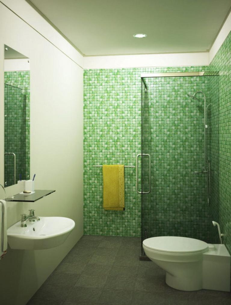 Refreshing green bathroom design ideas rilane for House simple restroom design
