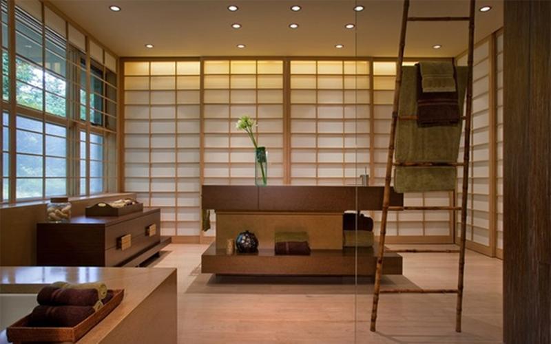 Charmant Natural Asian Inspired Bathroom