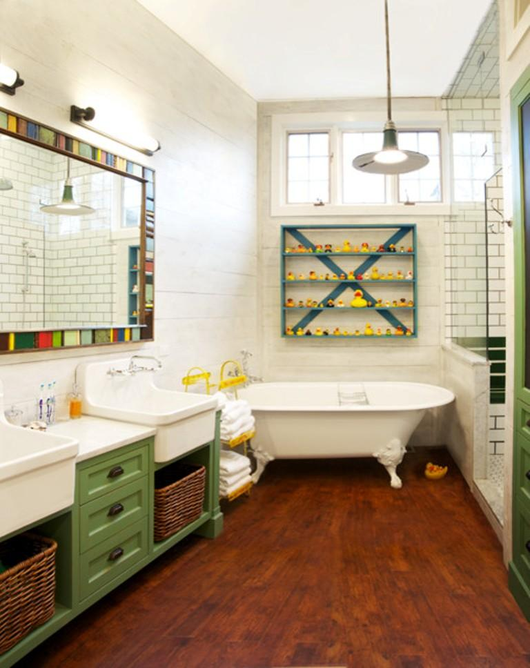 natural eclectic bathroom - Eclectic Bathroom