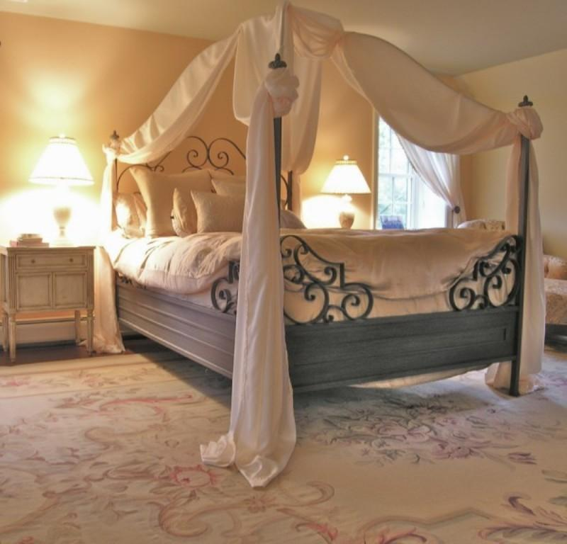 Canopy Bed Curtain 15 amazing canopy bed curtains design ideas - rilane