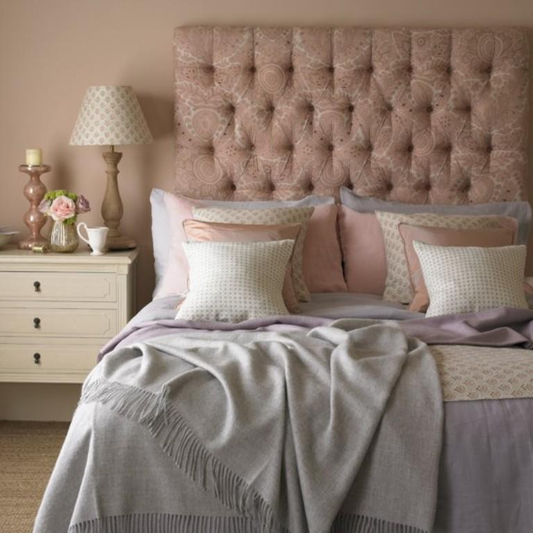 Pink And Grey Bedroom Snsm155 Com