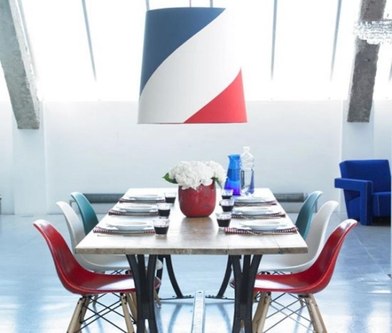 15 Lively Colorful Dining Room Design Ideas