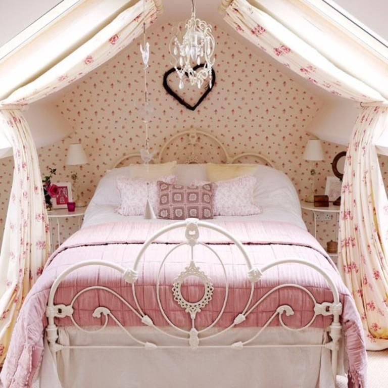 10 Beautiful Wallpaper Designs for Girl's Bedroom - Rilane