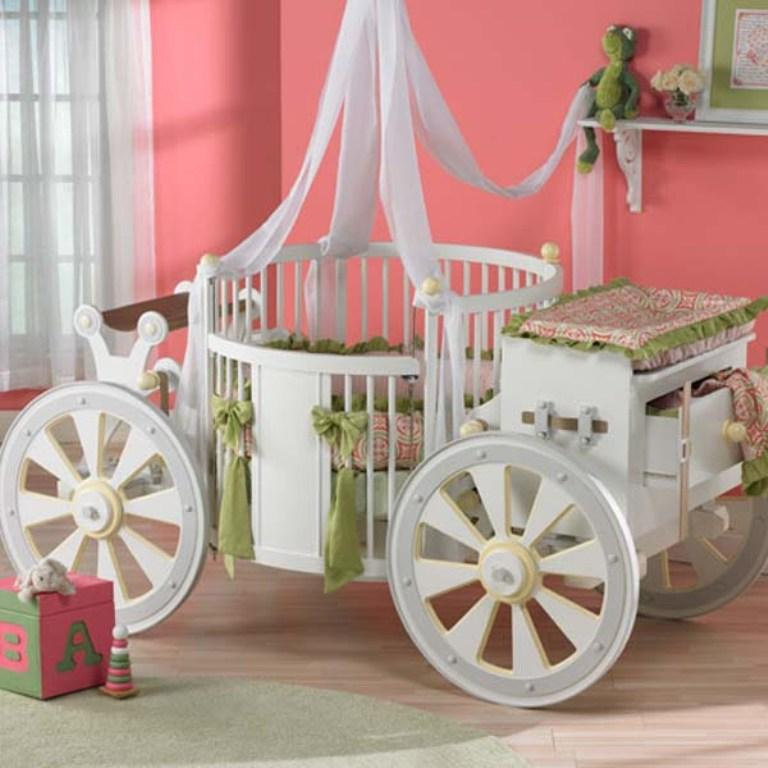 Pretty Cinderella Carriage Bed Design