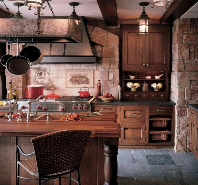 Rustic Kitchen Designs With Islands 15 reclaimed wood kitchen island ideas - rilane