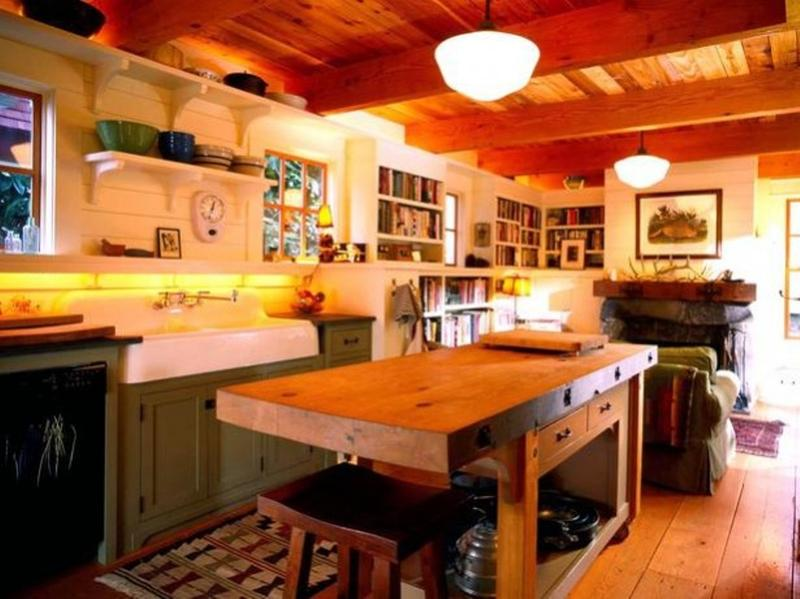 15 reclaimed wood kitchen island ideas - rilane