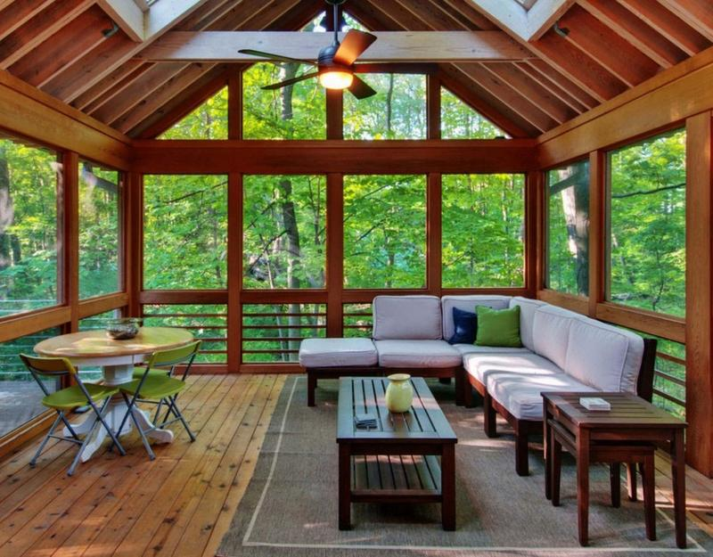 refreshing sunroom design - Sunroom Ideas Designs