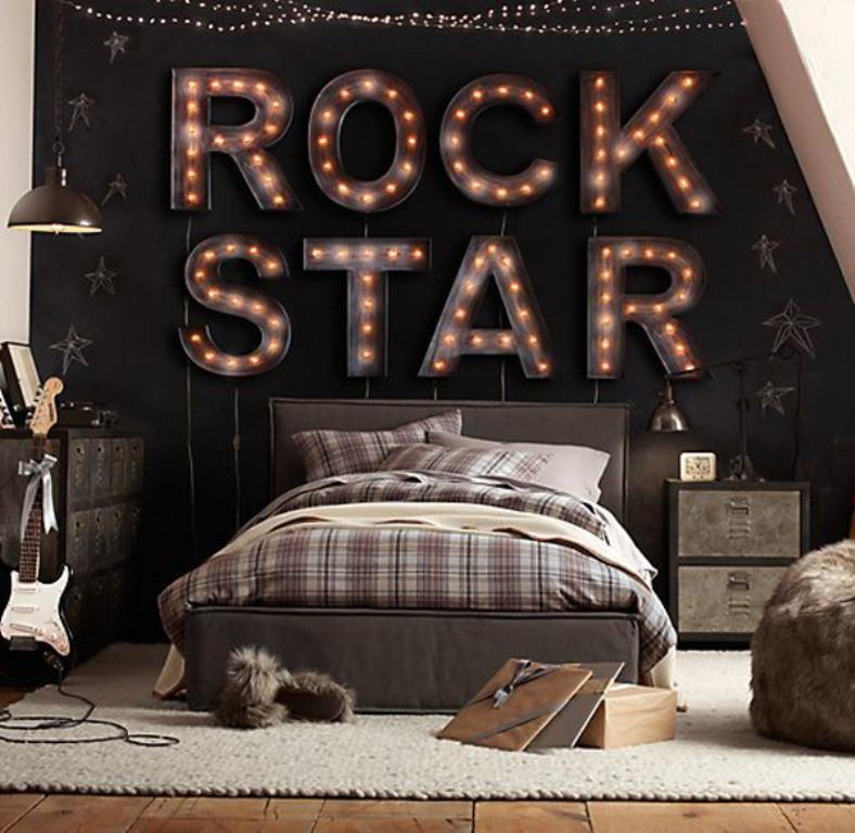 Music Bedroom: Music Inspired Bedrooms For Teenagers