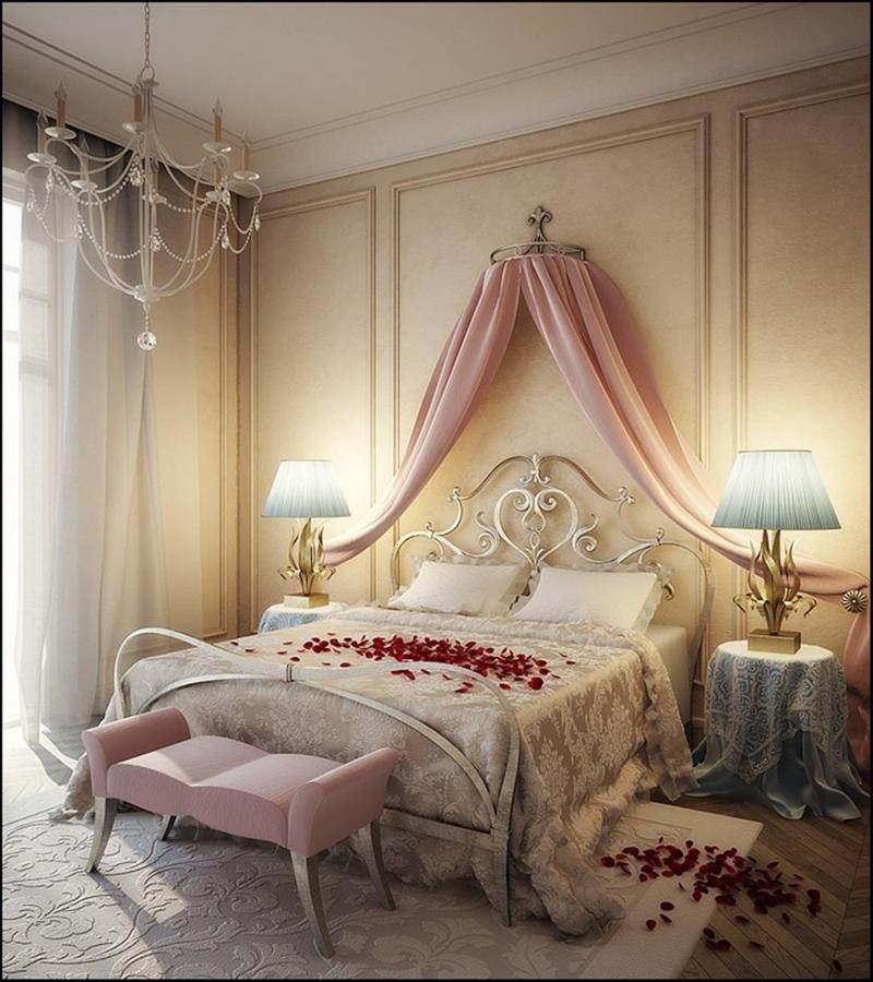 Romantic Canopy Bed Ideas 15 amazing canopy bed curtains design ideas - rilane