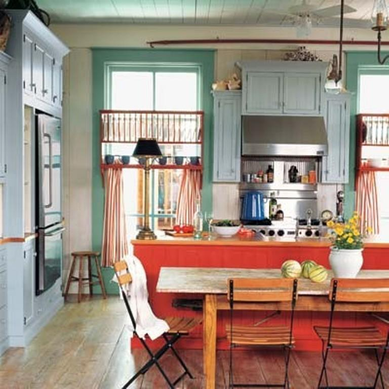 27 Cheerful Orange Kitchen Decor Ideas: 15 Vibrant And Colorful Kitchen Design Ideas