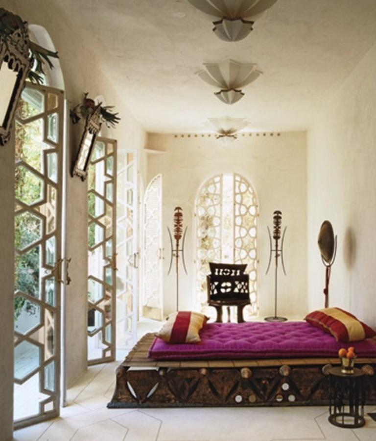 Moroccan Decorations For Home: Sumptuous Moroccan Themed Bedroom Designs
