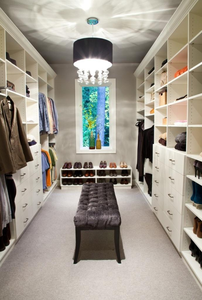 White Walk In Closet fabolous walk- in closet design ideas - rilane