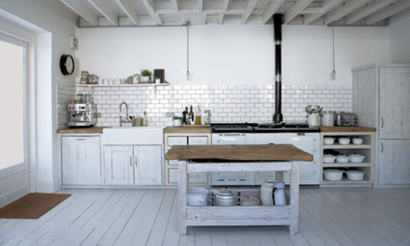 Whimsical industrial kitchen design ideas rilane for Industrial style kitchen designs
