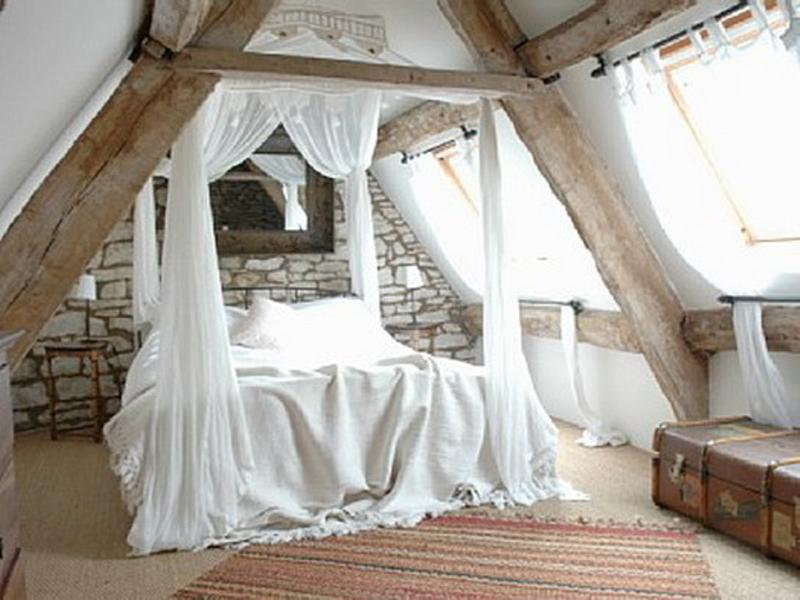 Dazzling Attic Bedroom Design Ideas Rilane