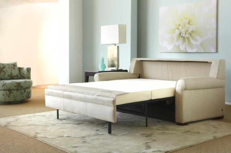 small white leather sectional sleeper sofa - Small Sleeper Sofa