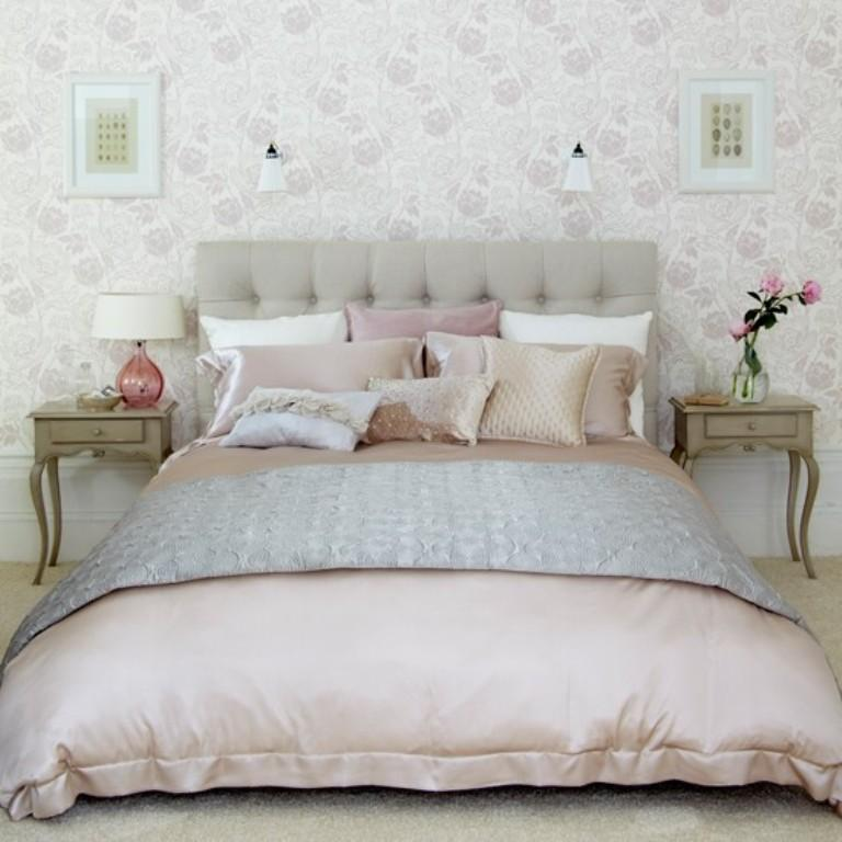 headboard com tufted silver dp safavieh studded taupe linen amazon king arebelle nailhead upholstered