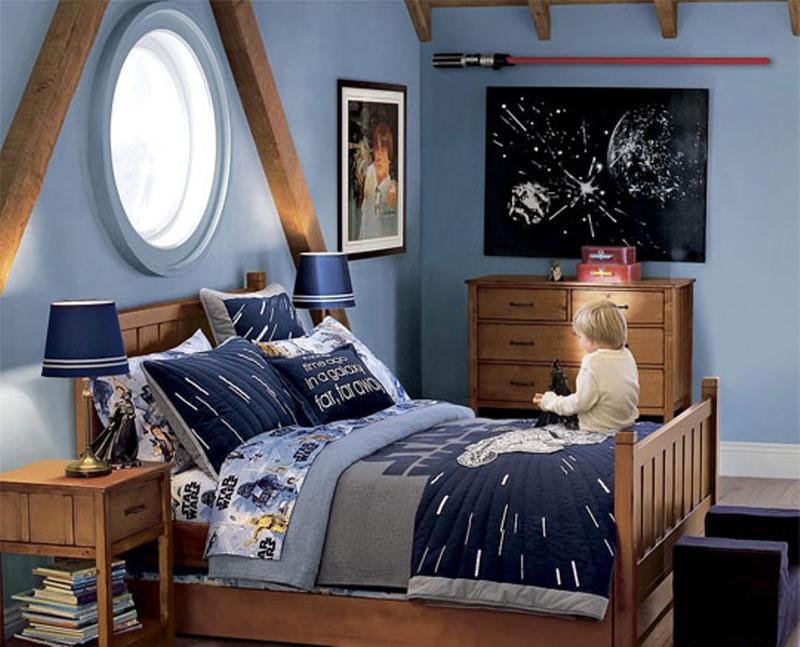 Star Wars Bedroom In The Attic